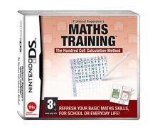 Nintendo DS - Professor Kageyama's Maths Training - European Version 2008  Age3