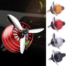 4 Colors Car Perfume Diffuser Propeller Shape Air Freshener Vent Clip Decor New