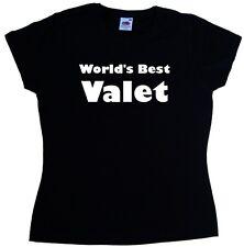 World's best valet dames t-shirt