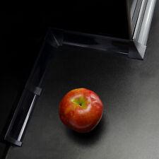 ABSCHLUßLEISTEN SCHWARZ 1,5m / 2,5m / 3m Zubehör Winkelleisten für Arbeitsplatte