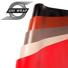 Real Leather Look Vinilo Envolvente Negro, Rojo, Marrón, Crema, Gris Burbuja/Aire Libre
