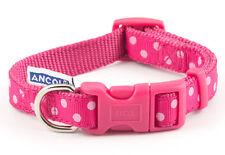 Ancol Vintage Polka Dog/Puppy Collar Pink