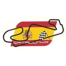 CIRCUIT CATALUNYA BARCELONE RACING TRACK AUTOCOLLANT STICKER 12cmx5,5cm  CA117