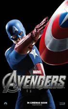 Avengers Captain America Chris Evans 35mm Film Cell strip very Rare var_b