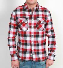 RVLT REVOLUTION David Shirt Camicia Rosso A Quadri Manica Lunga dayshirt Red check A QUADRI