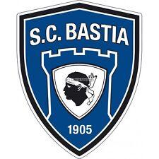 Stickers foot Autocollant SC Bastia SC Bastia