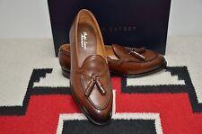 Ralph Lauren Purple Label Edward Green Burnished Calf Tassel Loafer Dress Shoes