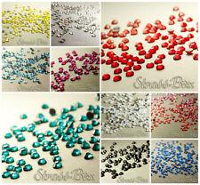 1000 Hotfix DMC Strasssteine SS6 Farbe wählbar aufbügeln Glitzersteine Strass