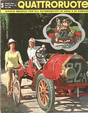 QUATTRORUOTE N. 77  1962 - MANUTENZIONE FIAT 600, AUTOBIANCHI BIANCHINA PANORAMI