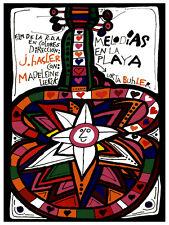 Melodias en la playa movie Decoration Poster.Graphic Art Interior design. 3529