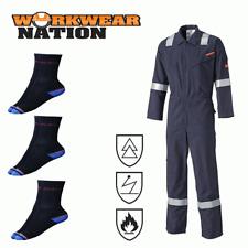 Dickies Modacrylic Electrostatic, Flame Retardant Overall Boiler Suit FREE SOCKS