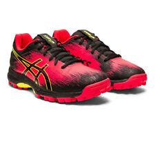 Asics Womens Gel-Hockey Typhoon 3 Hockey Shoes Pitch Field - Black Red Sports