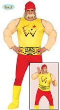GUIRCA Costume wrestler Hulk Hogan lottatore carnevale uomo mod. 84590
