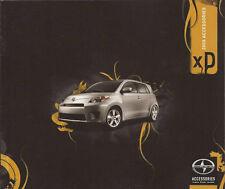 2008  08 Scion XD  Accessories  Sales brochure MINT