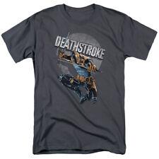 Deathstroke Retro DC Comics Licensed Adult T Shirt