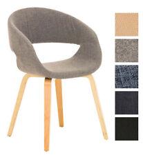 Fauteuil salle à manger PANO chaise bois tissu design scandinave réunion bureau