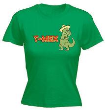T-Mex Rex Dinosaur WOMENS T-SHIRT Joke Mexican Dino Mexico Funny Gift birthday