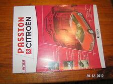 Fascicule Passion Citroen n°58 Activa 1 de 1988 DS 21 en 1967 Rosalie 1932