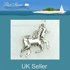Clip en encantos - 3D Unicornio encanto para collares y pulseras