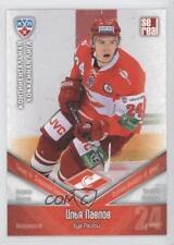 2011-12 SE Real KHL Spartak Moscow #SRT027 Ilya Pavlov (KHL) Rookie Hockey Card