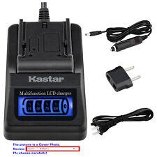 Kastar Battery LCD Quick Charger for Samsung SB-L110 & SC-D21 SC-D22 Camcorder