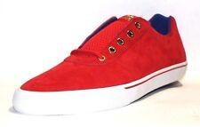 Supra Men's Cuttler Low Sneaker, Red/White/Blue-White, Sizes 10 & 11 M US