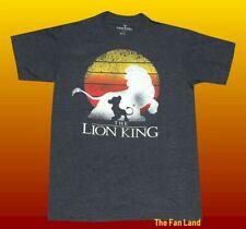New Disney The Lion King Mufasa Simba Charcoal Mens T-Shirt