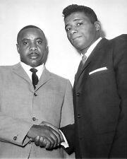 1962 Boxers SONNY LISTON & FLOYD PATTERSON Glossy 8x10 Photo Boxing Print