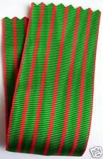 Coupe de ruban NEUF 14 cm x 37 mm, croix de guerre 14/18, médaille militaire.