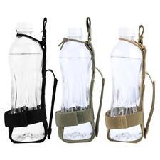 Durable Nylon Water Bottle Holder Belt Waterproof Bottle Carrier Molle Waist Bag