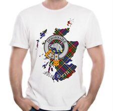 MacBeth Clan T-Shirt - Scottish Heritage Clothing - Scotland Cotton Tee