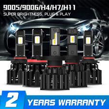 NOVSIGHT 100W 20000LM H4/H7/H11/9005/9006 LED Headlight Bulbs Full Dipped Beam