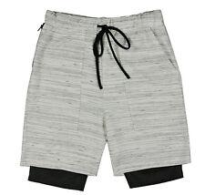 EPTM EPITOME CONTEMPOARY CLOTHING NAVAJO MARBLE 2 LAYER SHORTS $68 JOGGER