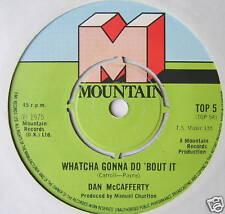 "DAN McCAFFERTY - Whatcha Gonna Do 'Bout It - Ex Con 7"""