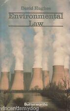 Environmental Law by David Hughes paperback 1986