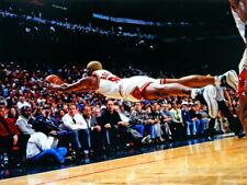 Dennis Rodman Chicago Bulls Jump Save Rebound Giant Print POSTER Affiche