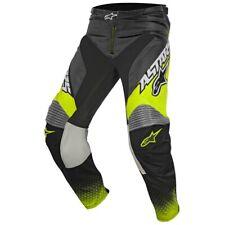 2017 Alpinestars Racer Supermatic MX Motocross Pants - Anthracite Flou Yello