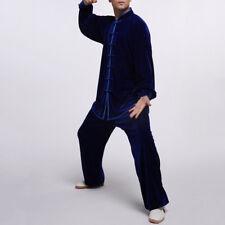 Costume unisexe de velours au stlye chinois pour Tai Chi et loisirs #109