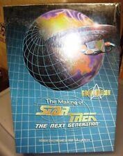 Star Trek Making Of Next Gen Gold Edition sealed box
