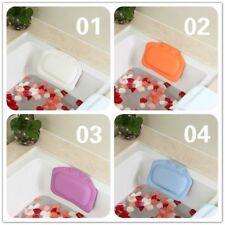PVC Foam Waterproof Bath Pillow Head Neck Rest Tub Relaxing Depression Cushion