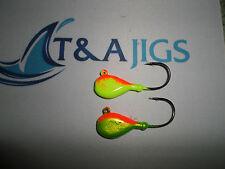 10 BLACKFISH JIGS Tautog Tog Jig Heads Weight+Color Choice T&A JIGS Black Fish