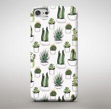 Cactus quisquilloso punzante Desierto Plantas Collage naturaleza única Cubierta Estuche Teléfono