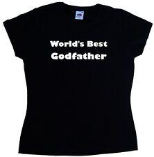 World's Best Godfather Ladies T-Shirt