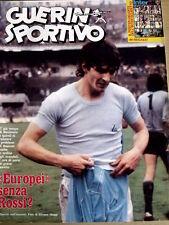 Guerin Sportivo 15 1980 Paolo Rossi - Milano Avellino tra i tifosi Irpini