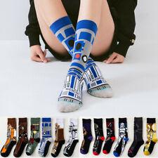 Star Wars Stockings M.Yoda Cosplay Socks Wookie Jedi Knight Novelty Unisex Socks