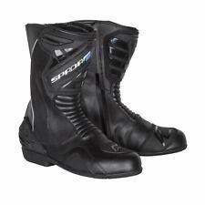 Spada Aurora HOMMES DAMES noir imperméable moto bottes de moto