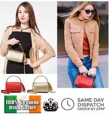 Shoulder Bag Side Purse Mini Clutch Rivets Studs Sling Tassel Crossbody Gift