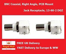 Conectores Bnc RF Coaxial, montaje de PCB ángulo Recto Jack receptáculo 50ohm 1GHz
