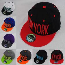 Ethos Pop Tonal NY New York Snapback Flat Peak Hat Cap