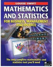 Book, Mathematics and Statistics for Business - L.Swift